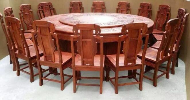 黄花梨实木餐椅子