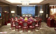 新中式电动圆桌--型号FH05